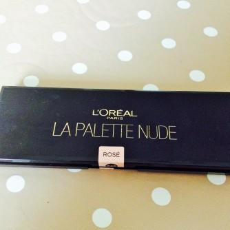 loreal le palette nude 2