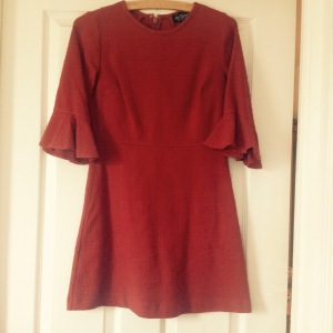 topshop autumn dress